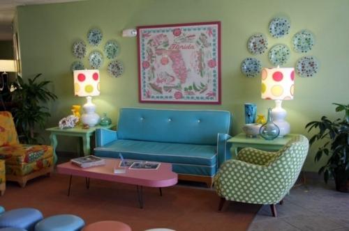 Living room design ideas in retro style u2013 30 examples as - retro living room furniture