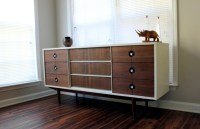 Modern living room cabinets  Sideboards made of birch ...