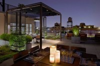 Covered terrace  50 ideas for patio roof of modern houses ...