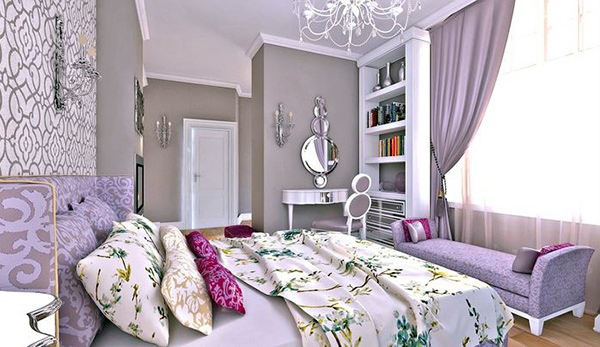 Bedroom design and wall colors u2013 charm and luxury in the bedroom - female bedroom ideas