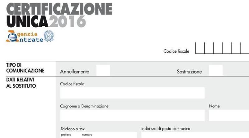 Come ottenere la certificazione unica 2016 circolare inps n 55 puntodidiritto - Certificazione lavoro autonomo provvigioni e redditi diversi nel 730 ...