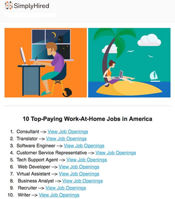 Freelance Writer Jobs Are On The Top-Paying Work-At-Home List for 2016