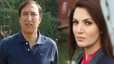 Reham Khan and her ex-husband Dr.Ijaz