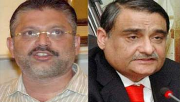 Sharjeel Memin and Dr. Asim