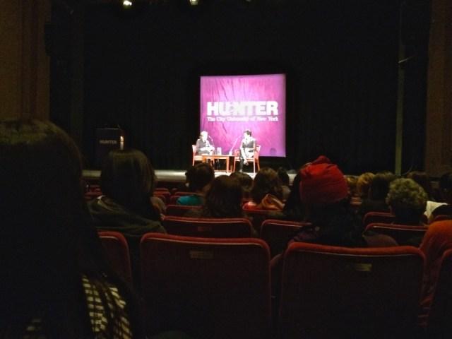 Ensler Hunter College
