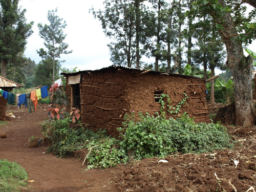 kenya mud house