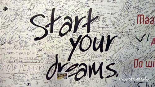 start your dreams