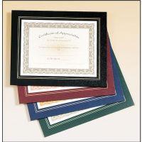 Leatherette Certificate Holder Frame - AwardMakersAwardMakers
