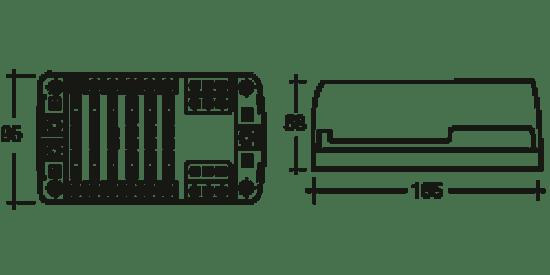 12 volt marine fuse box