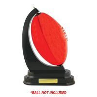 Timber Ball Holder (Rugby/AFL) Ball Displays ...