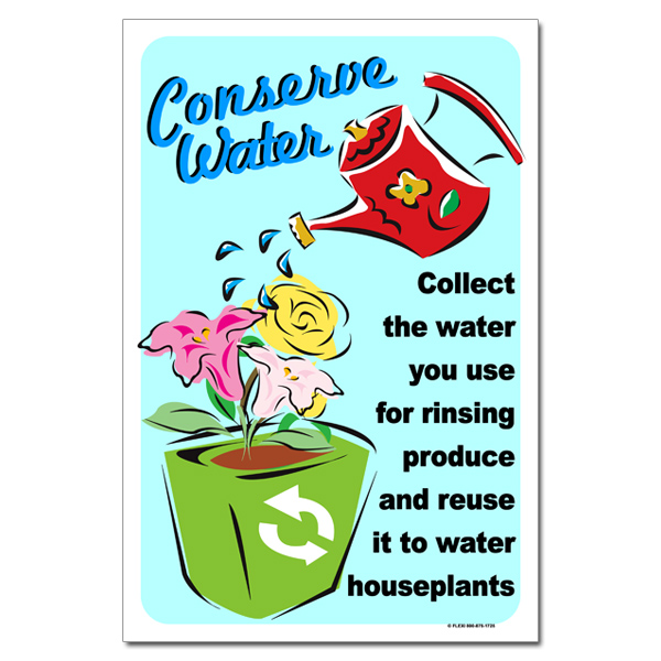 Ai-Wp355 - Conserve Water. Collect The Water You Use For Rinsing