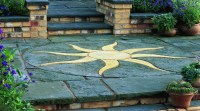 Patio Circles and Garden Stepping Stones Ideas & Advice