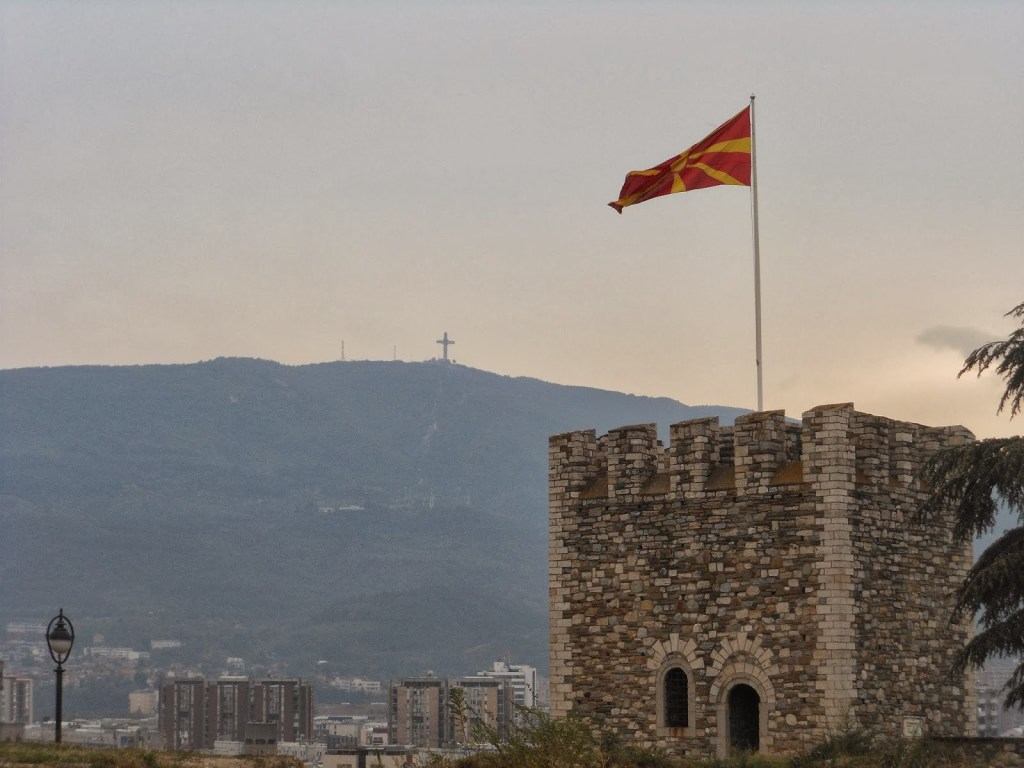 Castle in Skopje