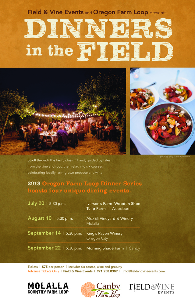 Dinners in the Field Oregon Events