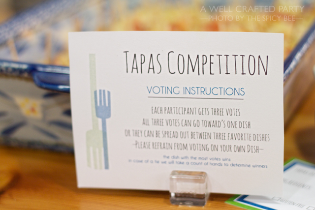 Tapas Competition