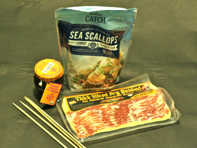 Bacon Wrapped Scallops Ingredients