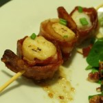 Bacon Wrapped Scallop Dinner // A Well Crafted Party