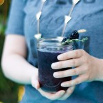 Blackberry Thyme Cocktail featured on InComplete Magazine