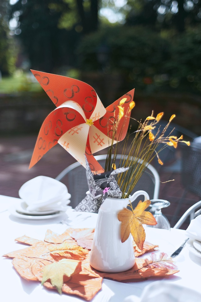 DIY fall wedding centerpiece - A Well Crafted Party