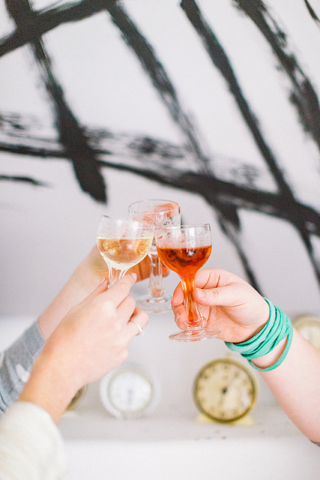 Classic Manhattan Cocktail // A Well Crafted Party Photo By May Boyden View More: http://maryboyden.pass.us/newyearseveparty