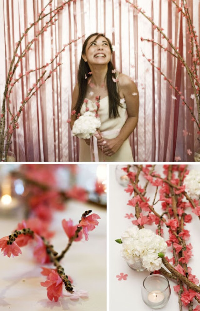 Top Posts of 2014: DIY Cherry Blossom Branches  // A Well Crafted Party