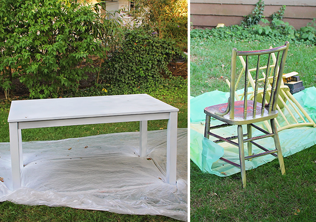DIY Outdoor Painting Projects - A Well Crafted Party