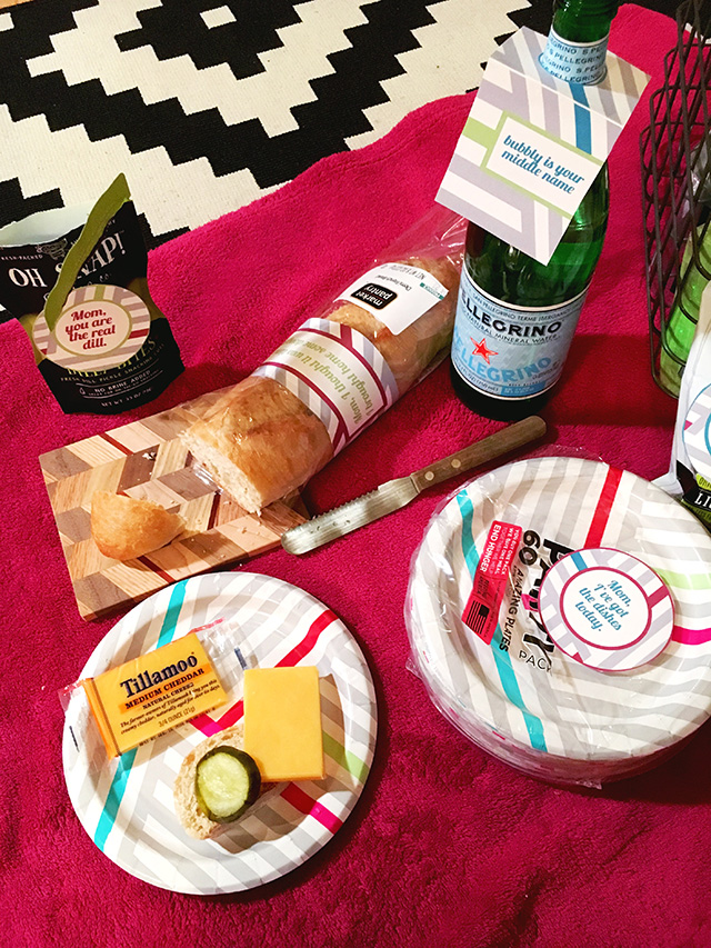 Cheeky Mother's Day Picnic - A Well Crafted Party