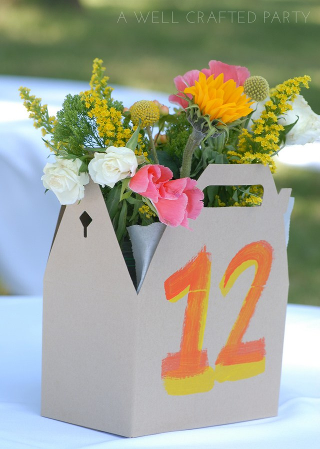Use Unexpected Vessels in Creating Fun DIY Floral Centerpieces - A Well Crafted Party