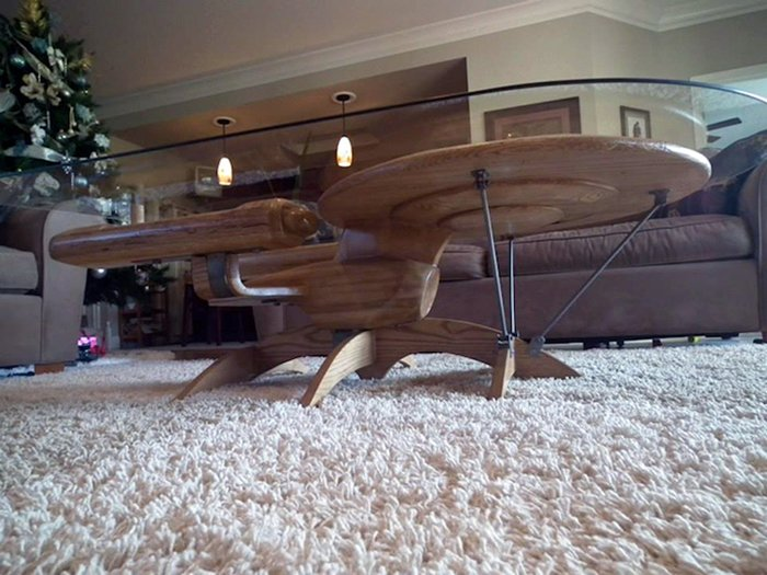 Awesome Starship Coffee Tables