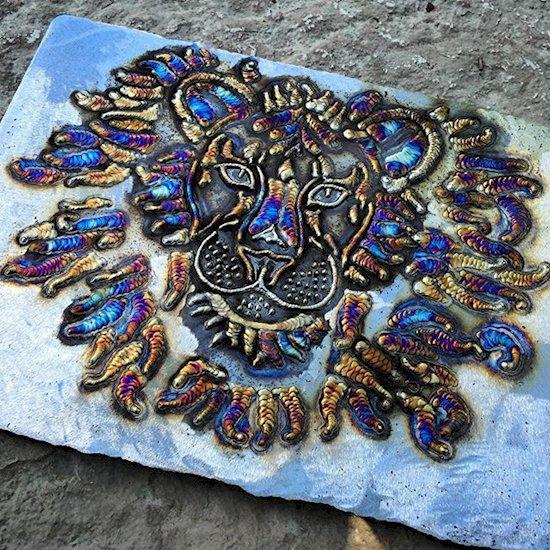 welding-art-lion