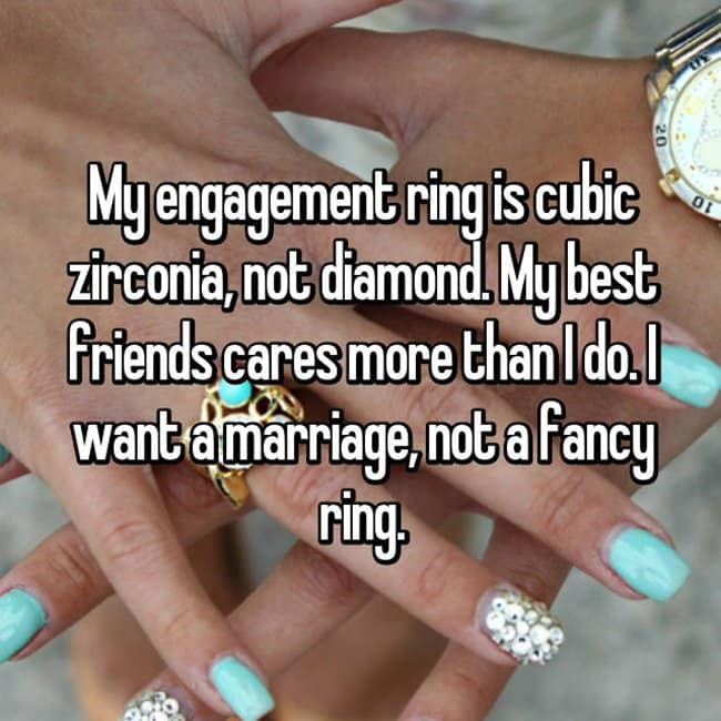 How Women Really Feel About Their Fake Engagement Rings - how to fake a marriage