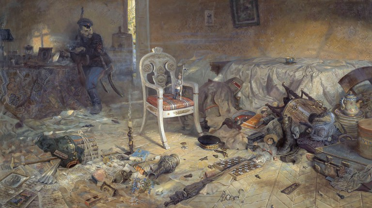 Nicholas And Alexandra Romanov Family Death Scene