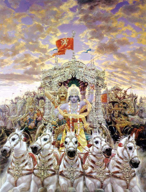 Lord Krishna Wallpaper Full Hd Krishna And Arjuna Summary Of The Bhagavad Gita