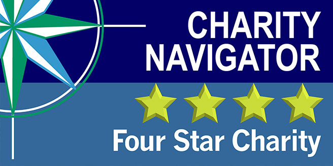 AWF Earns Coveted 4-Star Rating From Charity Navigator for 11th - Charity Evaluation