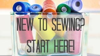 new to sewing