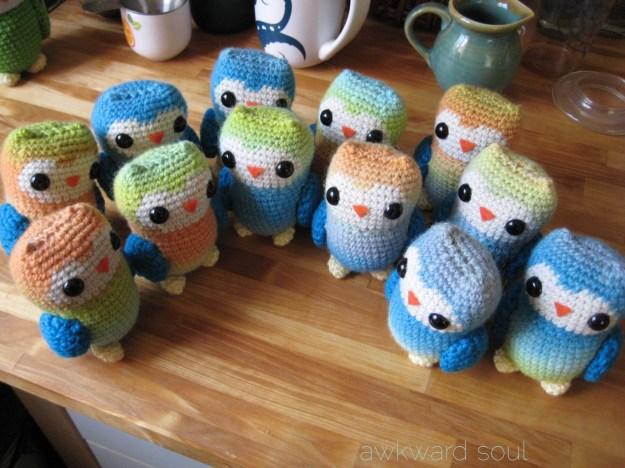 1 dozen amigurumi owls - awkwardsouldesigns (4)