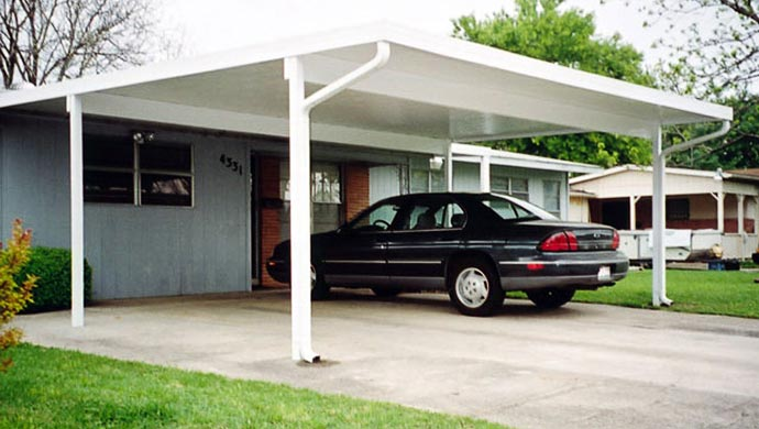 Aluminum Carport And Canopy Covers