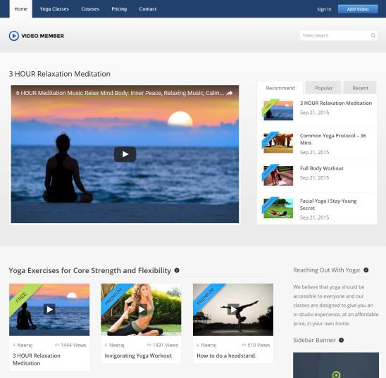 Video Member Theme Review - InkThemes TRUTH