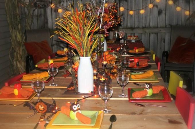Fall Table Decor Idea