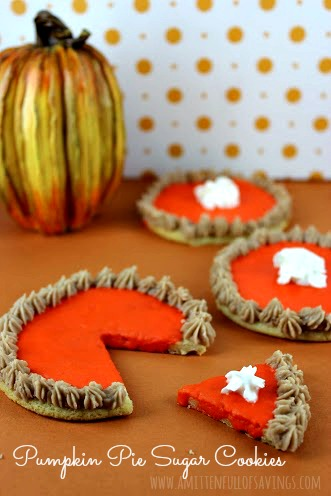! Recipe: Pumpkin Pie Sugar Cookies