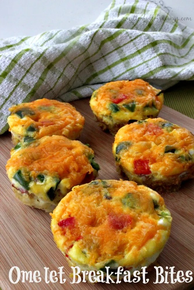 The Best Omelet Breakfast Bites You Will Ever Eat can be found right here! This healthy breakfast recipe is also easy to make and the whole family will LOVE it! Check it out now!