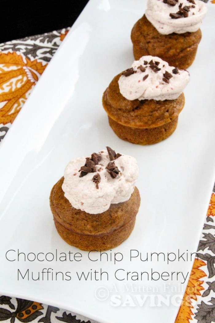 Pumpkin, Millet, And Chocolate Muffins Recipe — Dishmaps