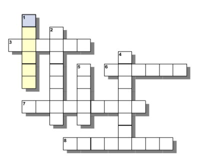 AWwBA Fun Gun, Second Amendment Lover's, Crossword Puzzle