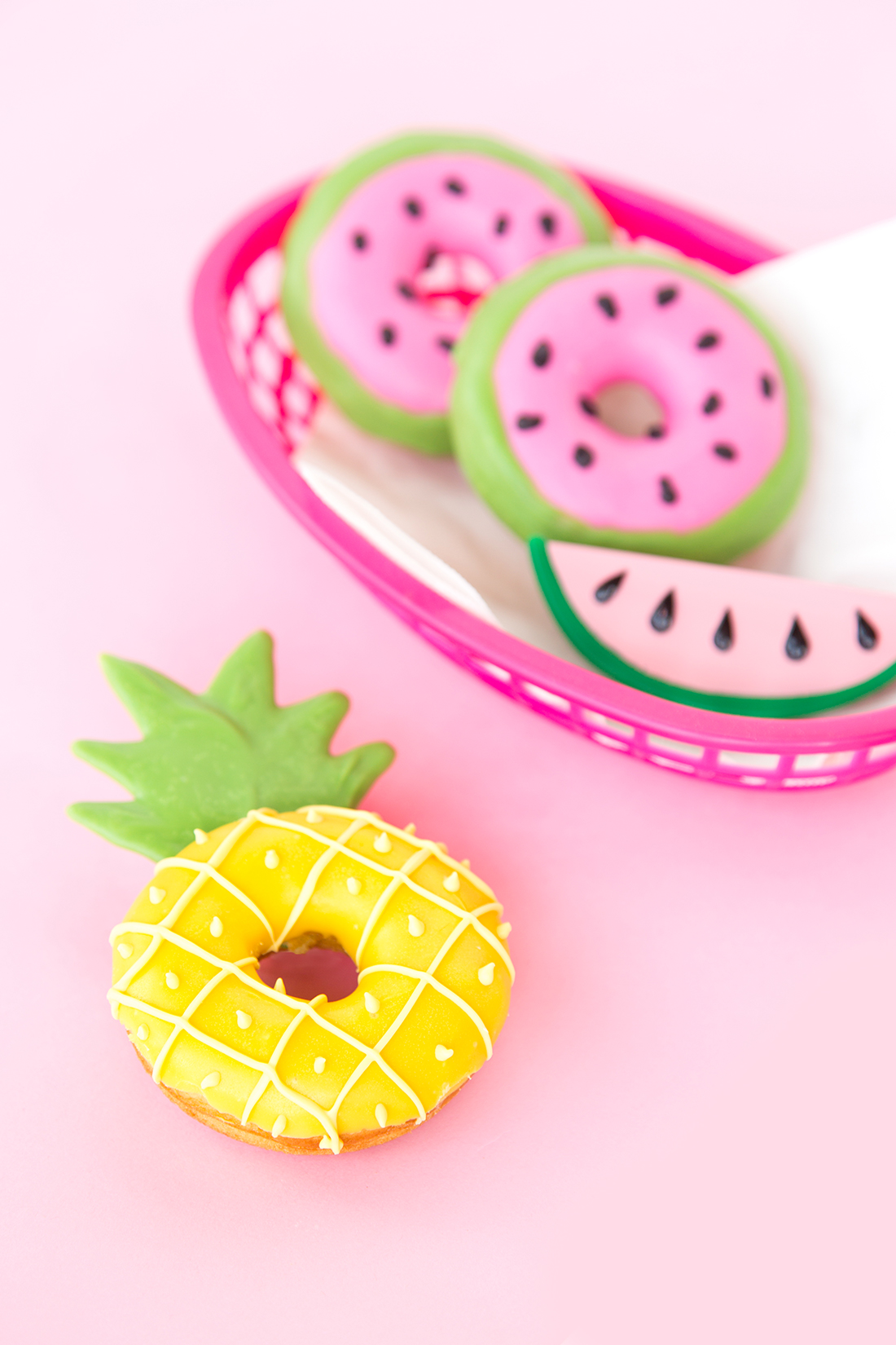 Watermelon Wallpaper Cute One 187 Summer Fruit Slice Donuts