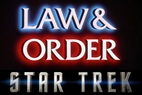 Law and Order - Star Trek