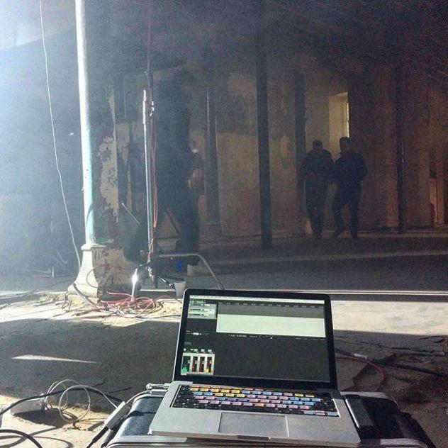 On set! #MahoganySessions #LocationRecording