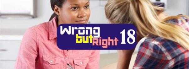 wrong but right chapter 18