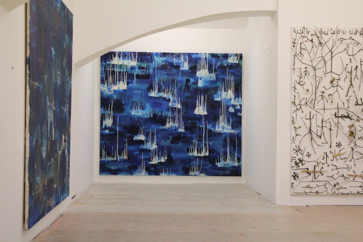 Martin Mainer Blues Woods at Nova galerie, Vinohrady, Prague