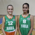 Las jugadoras Lisa Socas y Marianna Perdomo