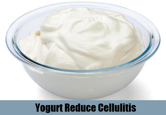 Yogurt Reduce Cellulitis